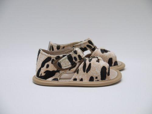Cheetah Sandal   Baby girl shoes, Girls