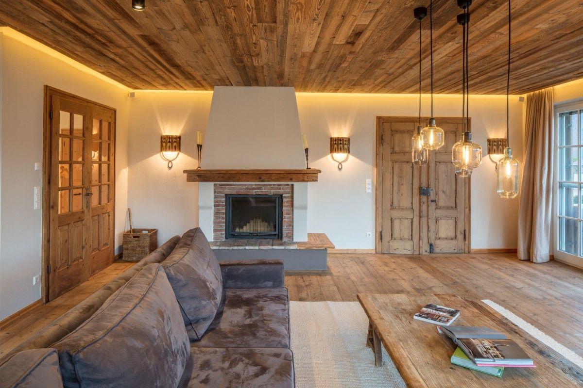 Wohnzimmerneugestaltung   HK Architektur St. Johann in Tirol ...