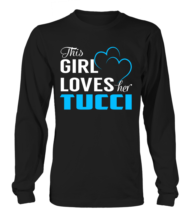 This Girl Love Her TUCCI Last Name T-Shirt #Tucci