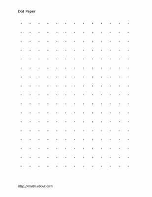 Practice Your Math Skills With This Printable 2-Centimeter Graph - isometric dot paper