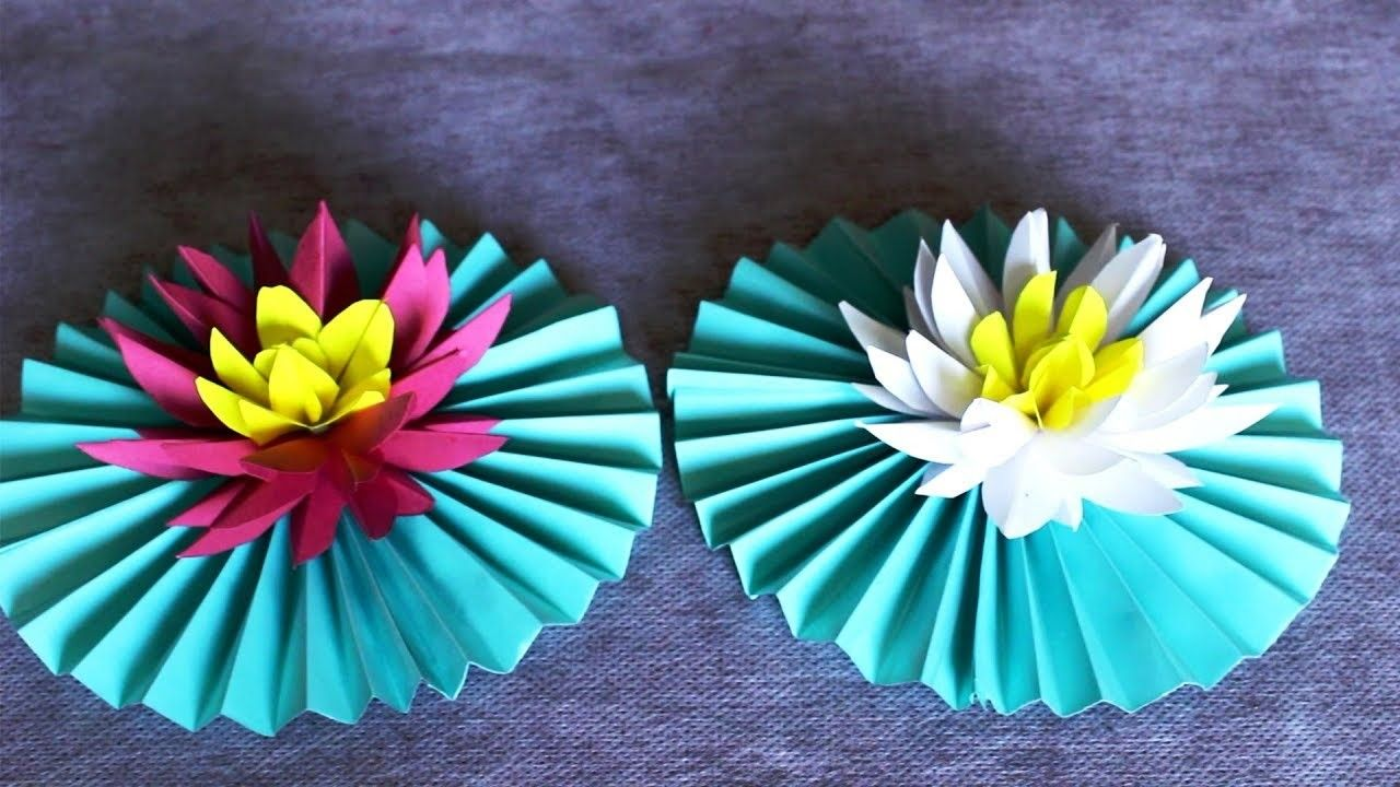 Paper Lotus Flower  Papercraft  Pinterest  Paper lotus Lotus