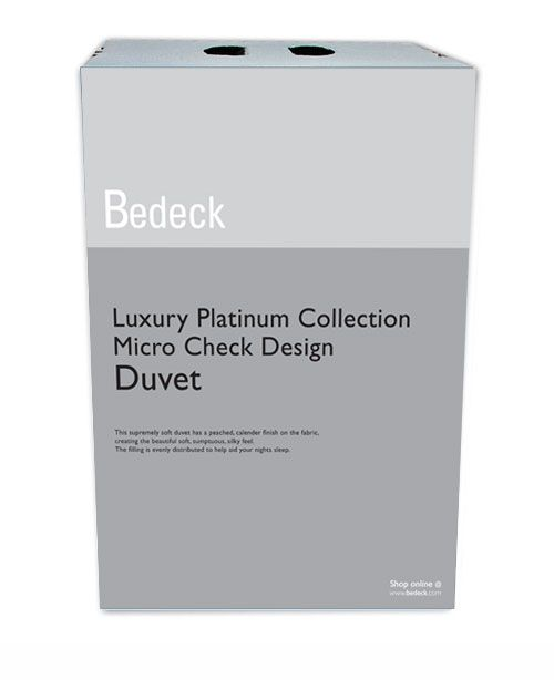 Bedeck Supremley Soft Double Duvet 12 Tog White Luxury Duvets This Supremely Has A Peached Calender Finish On The Fabric