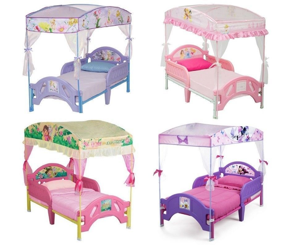 Toddler Bed With Canopy Bed Tent Multiple Choice In Home