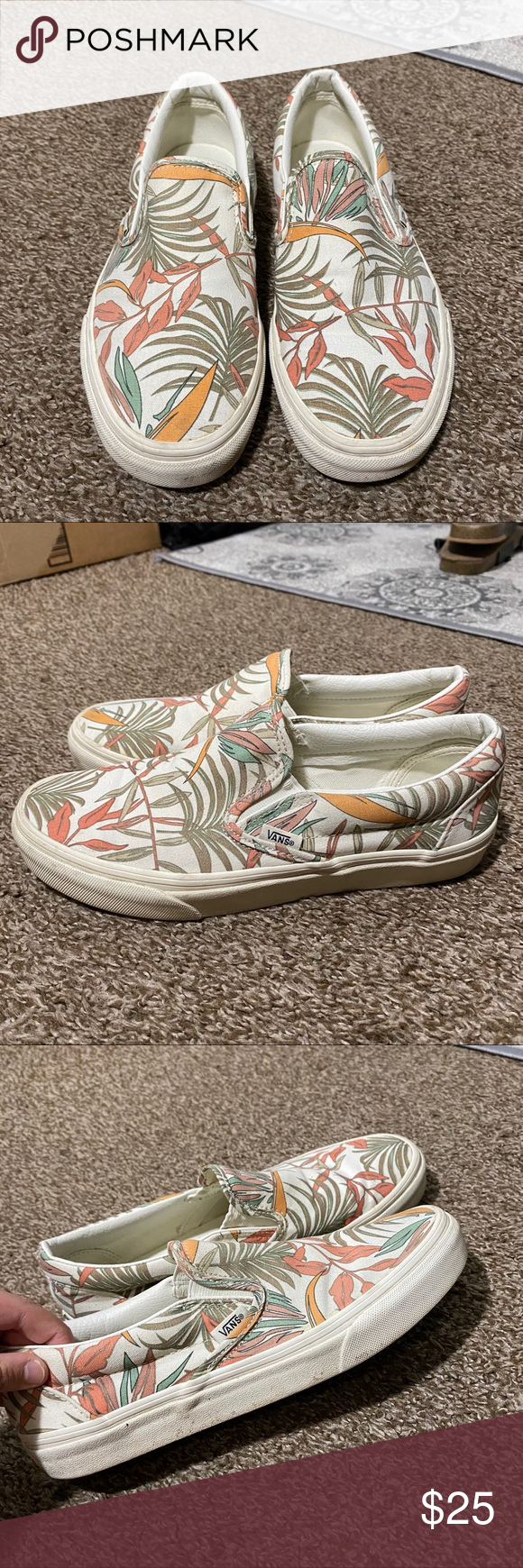 Photo of [ vans ] tropical vans slip on adorable! don't wear these as much but still in…