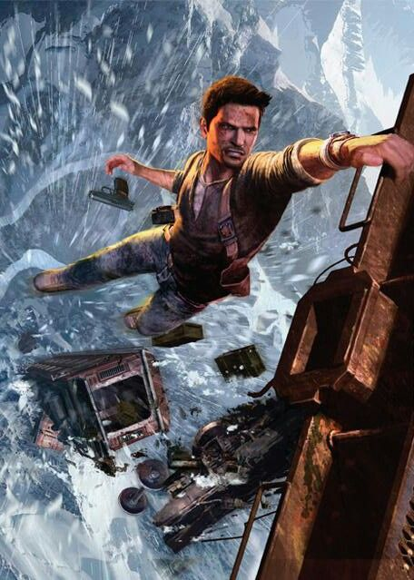 Uncharted 2 Among Thieves Aventura Conceitual Arte Conceitual