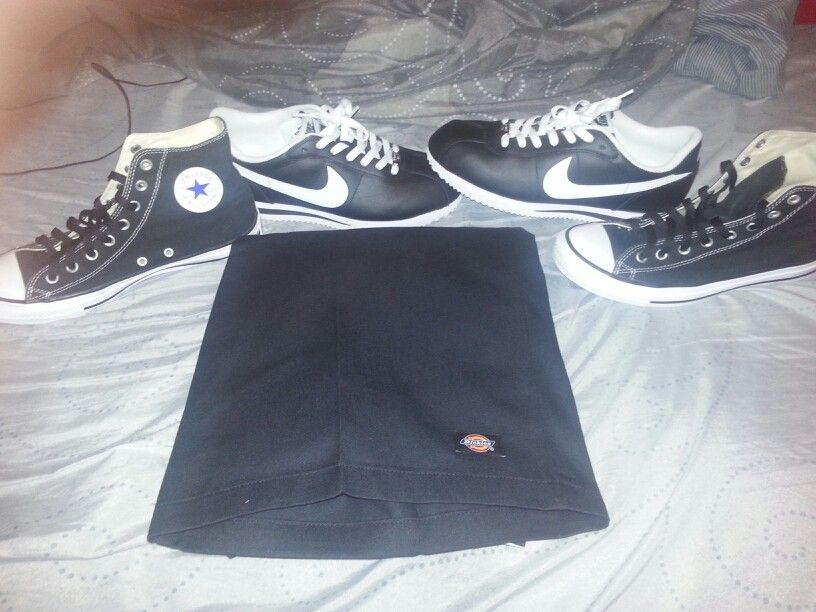 e0766846574ed7 All my favorite nike Cortez chucks and dickies gotta stay G d up ...