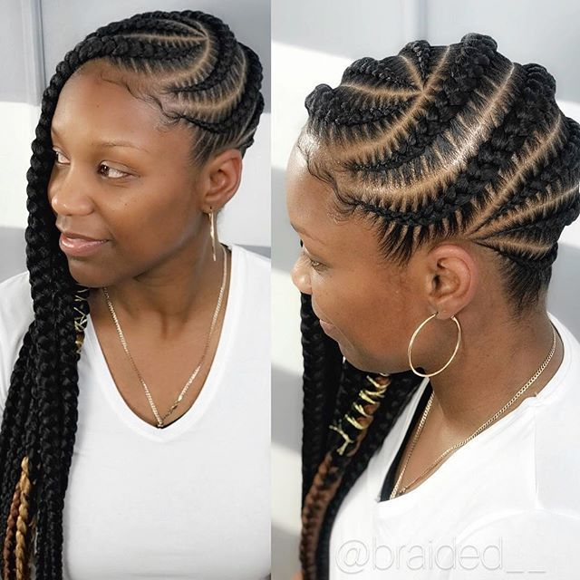 African American Braided Hairstyles Prepossessing 7 Awesome African American Braided Hairstyles  Cornrows