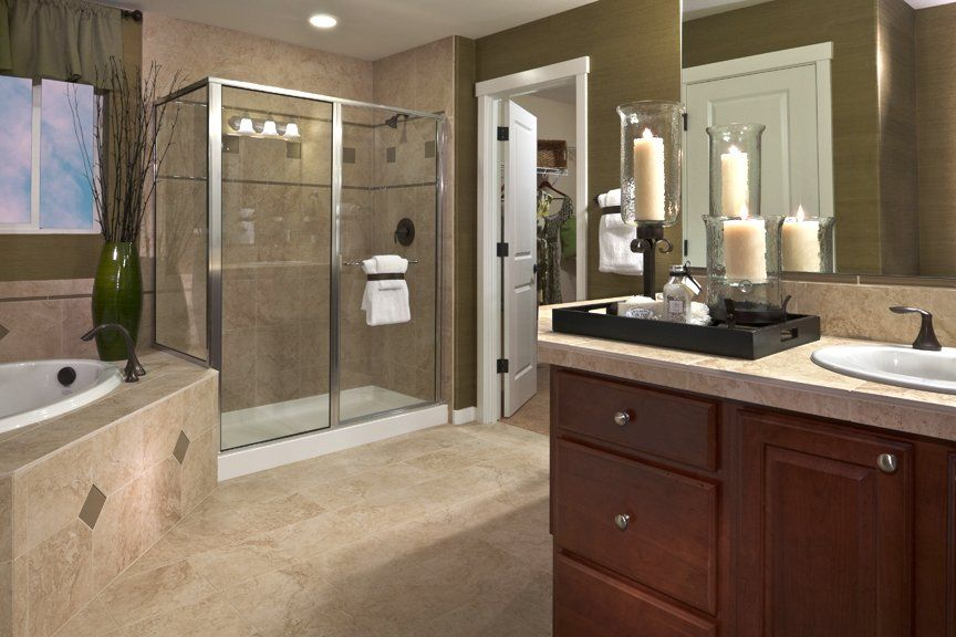 Bathroom Romantic pulte design tip: candles are an excellent way to make your