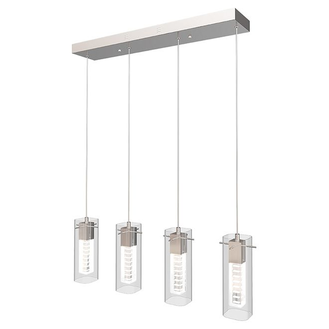 Suspended Light Hologram Lights W LED Chrome RONA - Kitchen light fixtures rona
