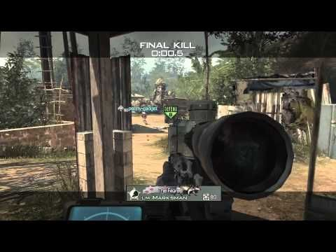MW3 S MSR Village Sniping/Quickscoping | Gaming | Games