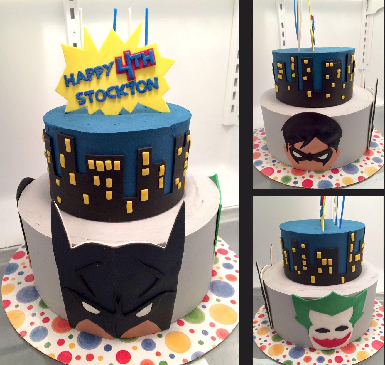Tremendous Batman Robin Joker Cake Joker Cake Batman Party Robin Joker Personalised Birthday Cards Vishlily Jamesorg