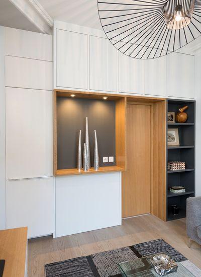 renovation appartement ancien lyon petit espace architecture interieur decoratrice chambre idee cuisine noir bleu