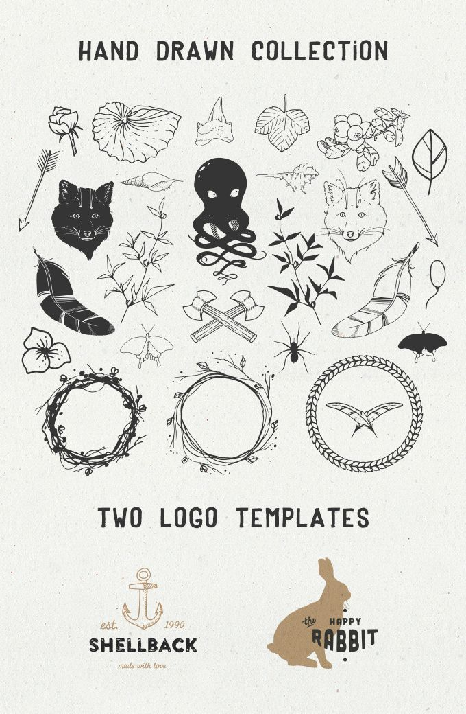 Sable free vectors retro illustrations and logo templates