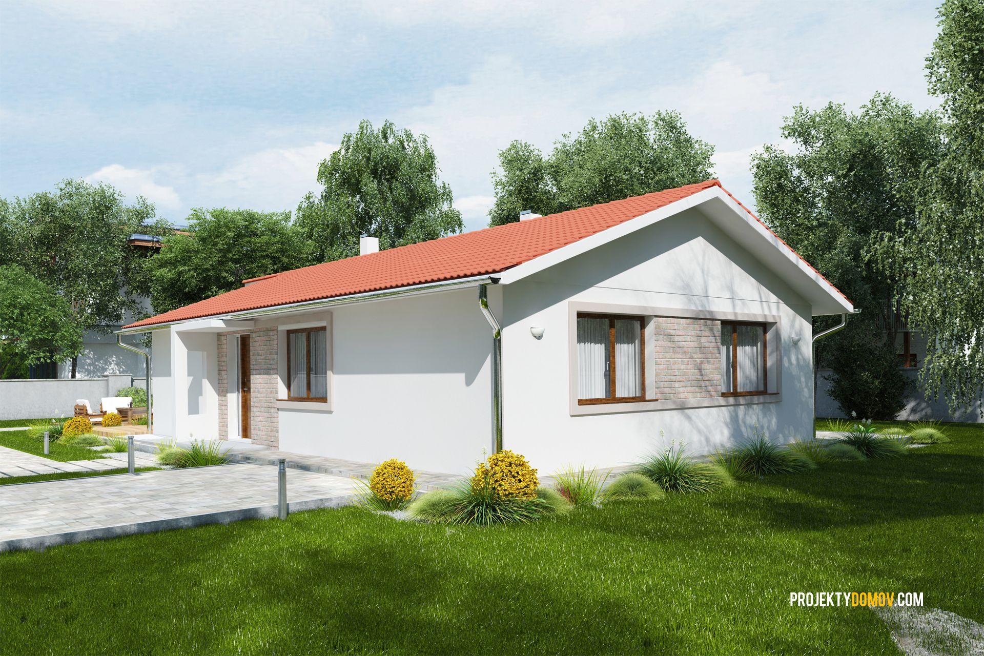 Nízkorozpočtový Projekt Domu Bungalov Na úzke Pozemky House