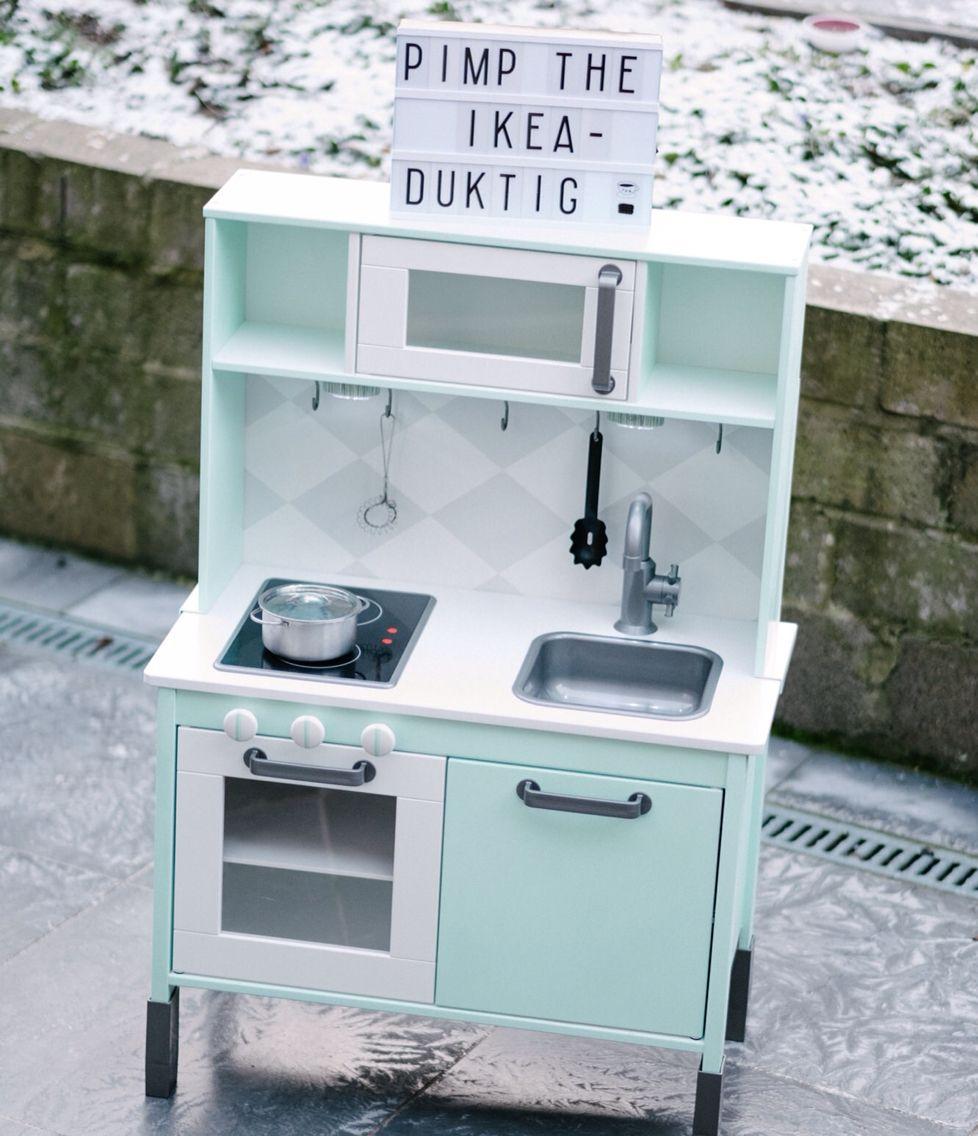 Pimp die Ikea keuken! | z speelgoed idee | Pinterest | Ikea hack ...