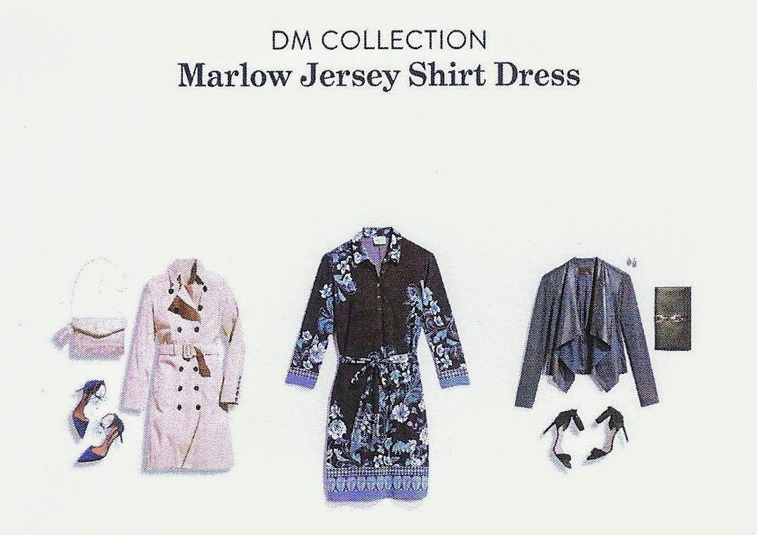 Marlow Printed Jersey Shirt Dress Wwwmiifotoscom