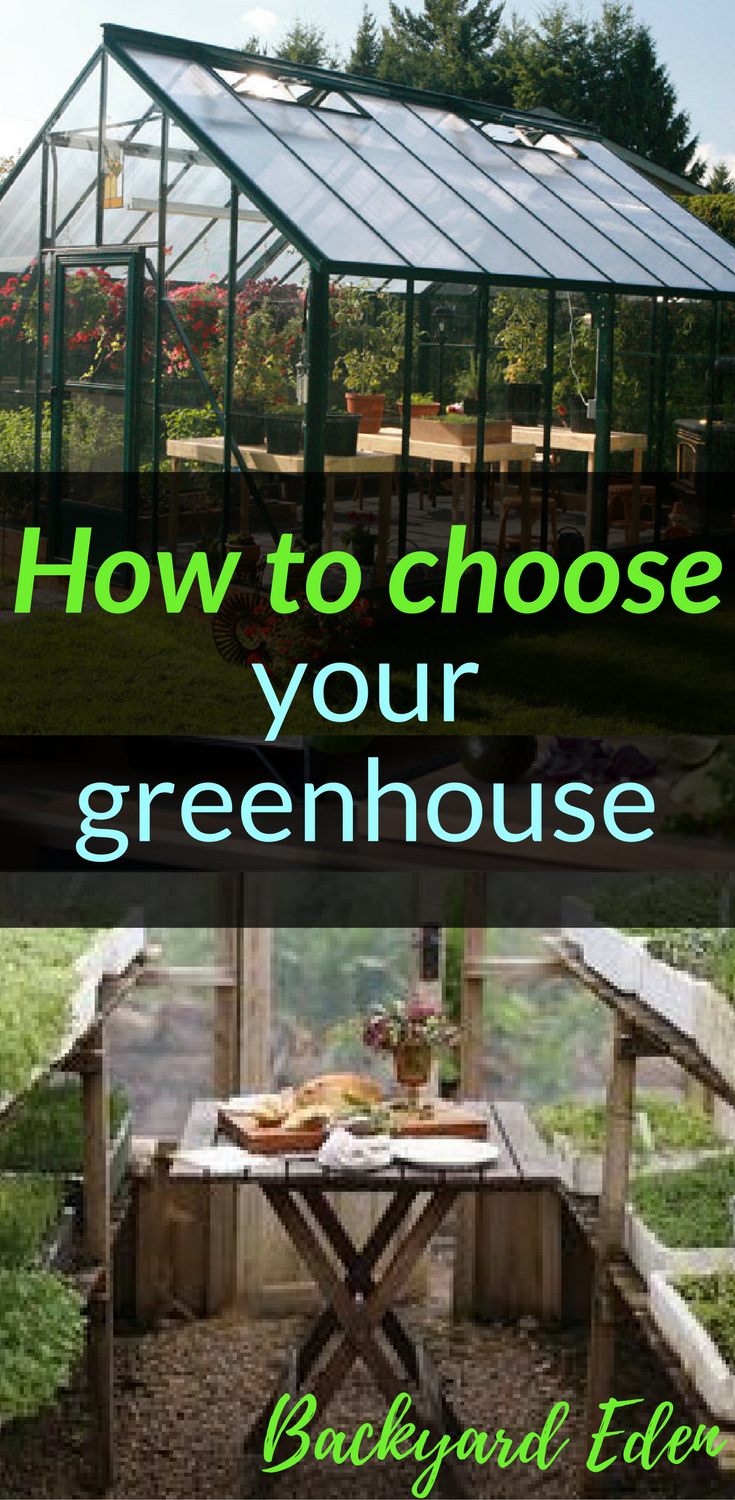 How to choose your greenhouse | DIY Greenhouse | Greenhouse Plans ...