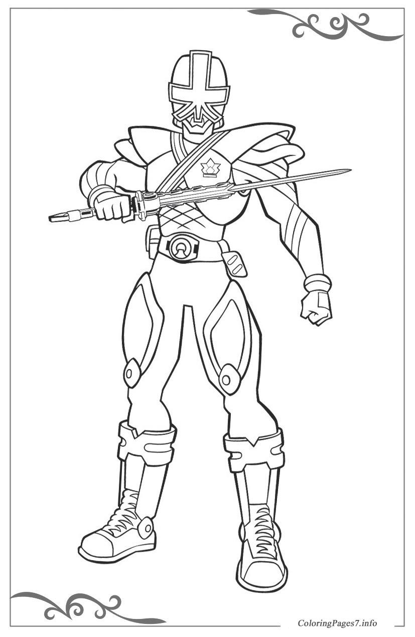 Power Rangers Free printable coloring pages for children | Coloring ...