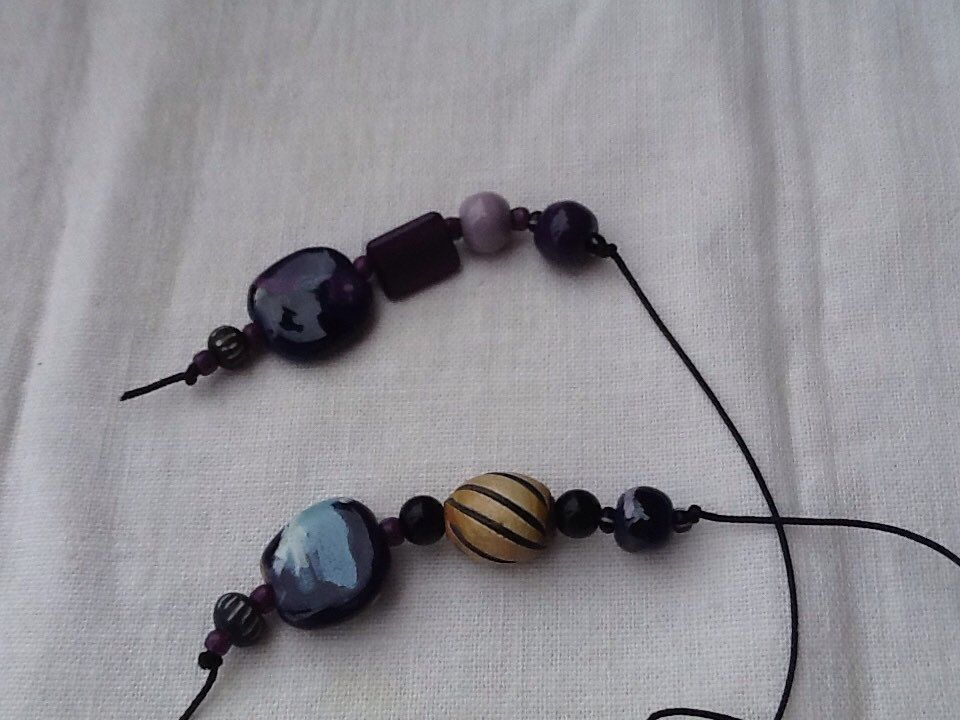 A personal favorite from my Etsy shop https://www.etsy.com/listing/225873525/kazuri-bead-bookmark