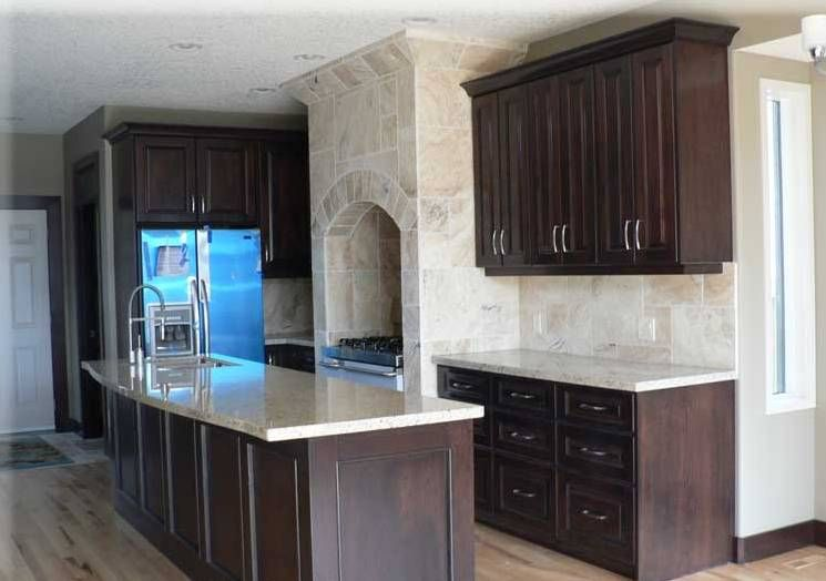 you can give small kitchen their own unique touch by going for dark cabinets here are 23 ideas of cabinets t18 cabinets