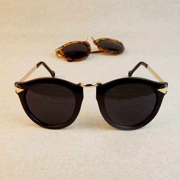 52dcad41efb13 Mulheres Óculos De Sol Estilo de Seta Óculos de Armação Redonda de Metal  Óculos de Sol Feminino