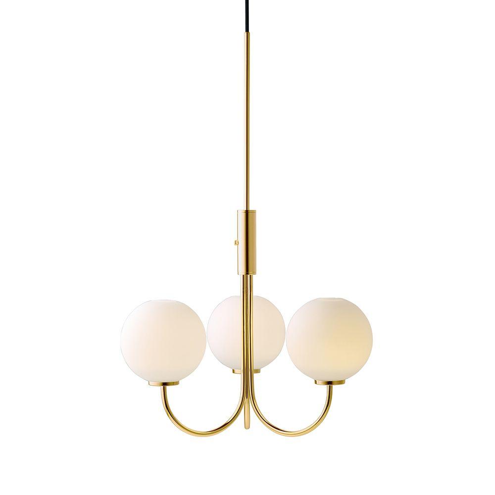 Ballon pendant brasswhite herstal 灯具 pinterest lighting