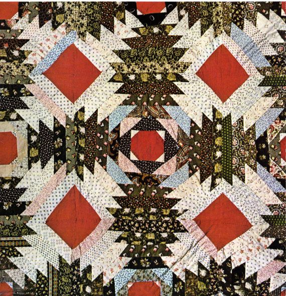 Twelve Tradional Patchwork Quilt Patterns Carol By Booth247 695