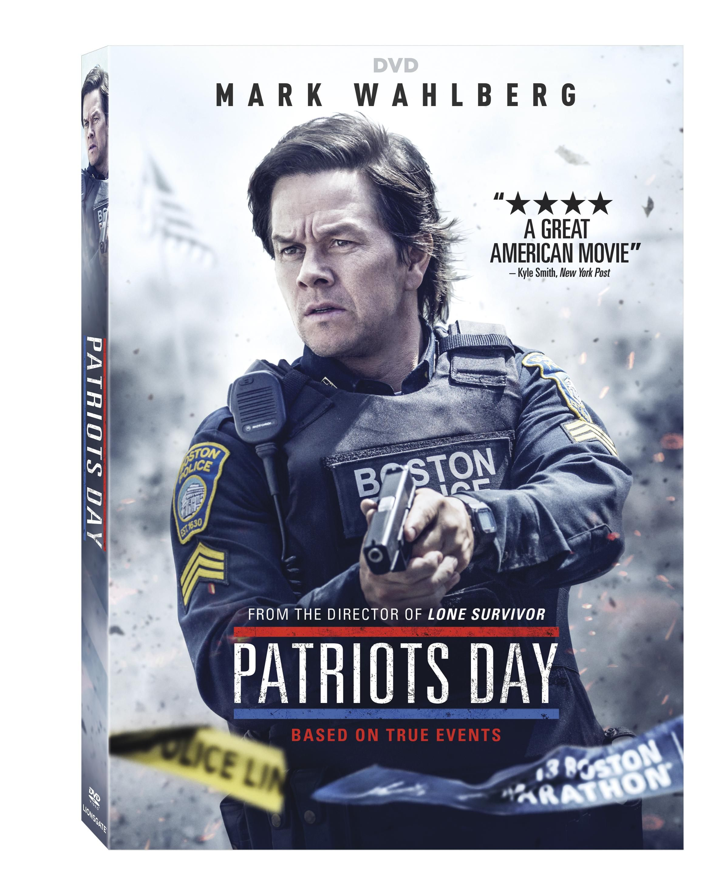 New On Dvd And Blu Ray March 28 2017 Mark Wahlberg Patriots Patriots Day