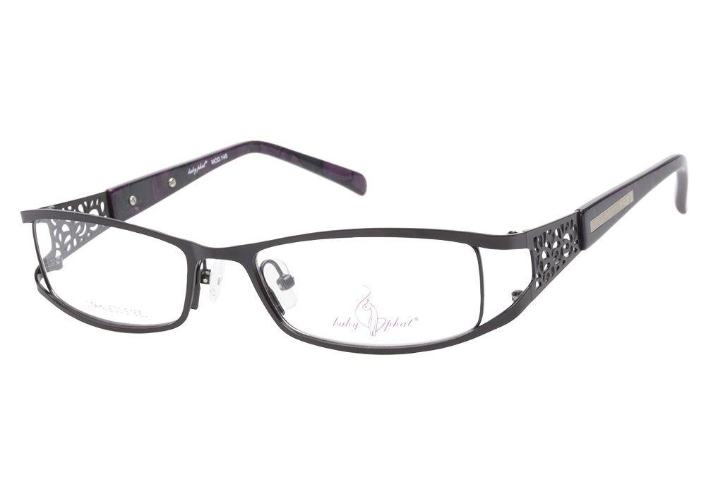 Baby Phat 148 Matte Black eyeglasses brings in the metropolitan ...