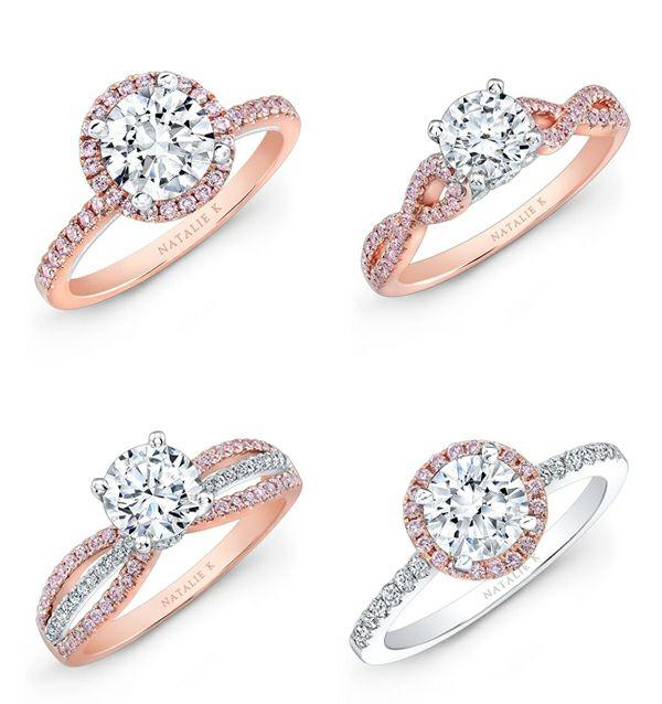 Eheringe weißgold rotgold schlicht  schöner verlobungsring rotgold weißgold heiratsantrag machen ...