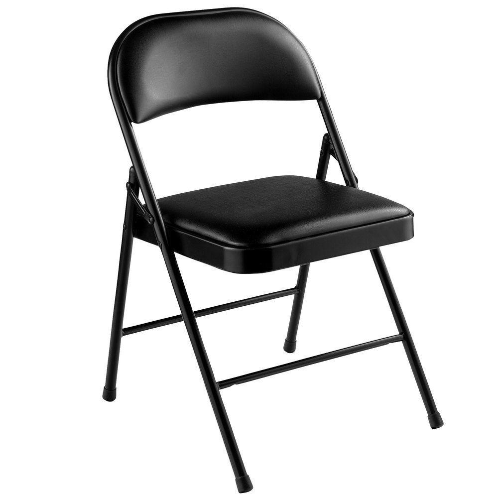 138 Reference Of Chair Black Folding In 2020 Folding Chair Metal Folding Chairs Chair Pads