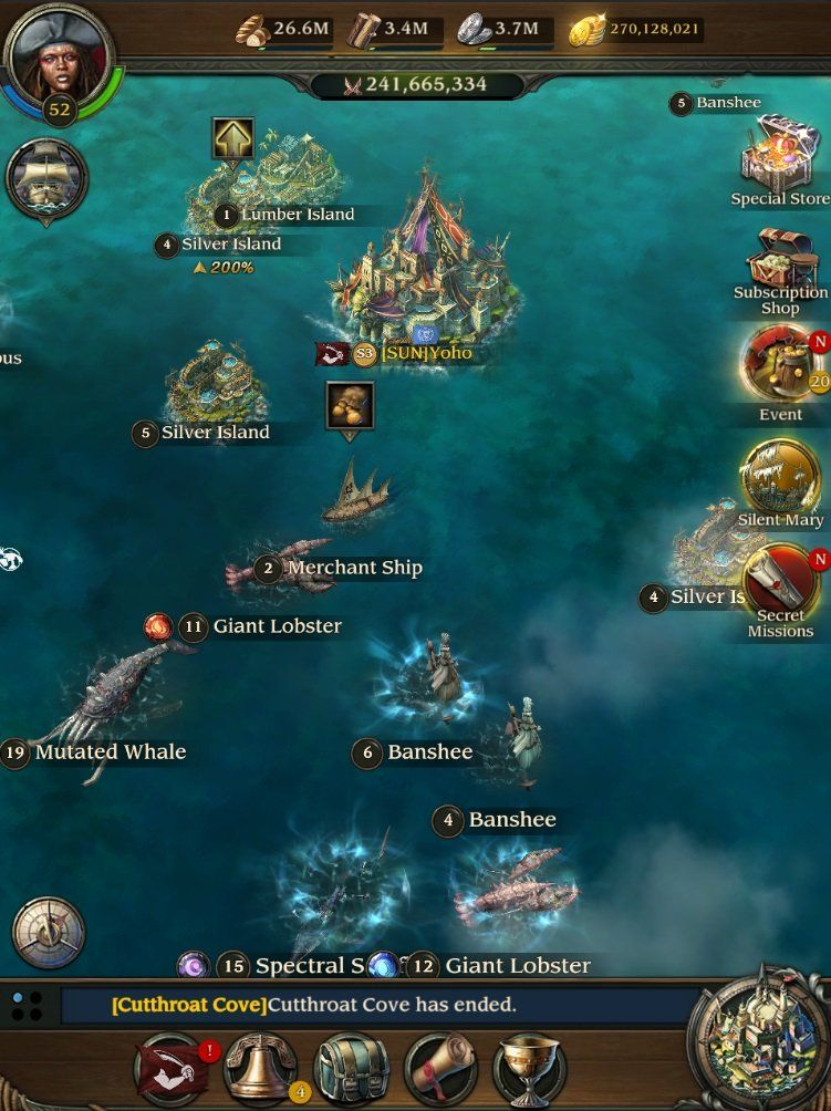 Pirates Of The Caribbean Tides Of Wars Latest Update Adds A New