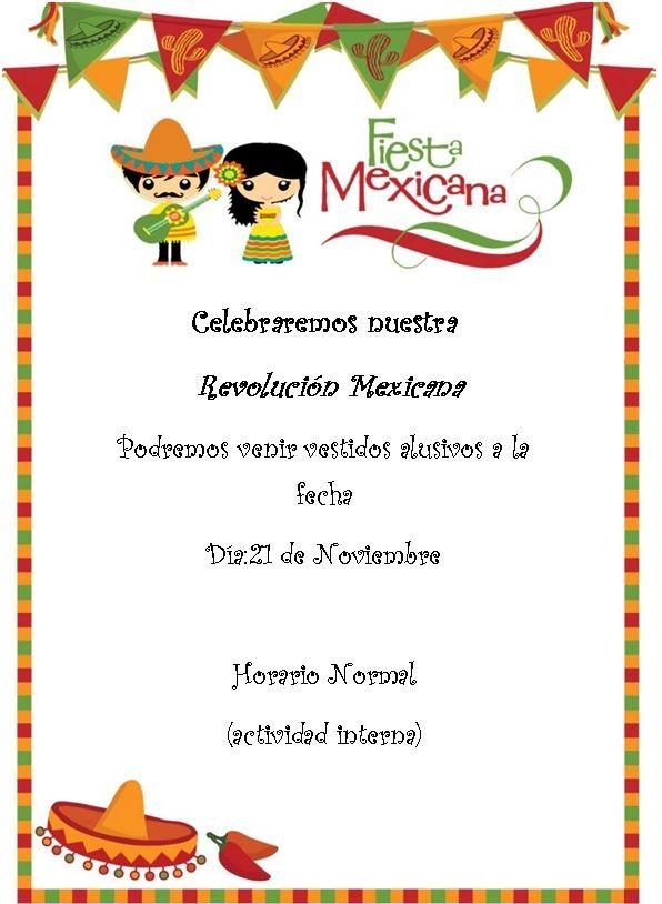 Invitacion Revolucion Mexicana Invitaciones Mexicanas