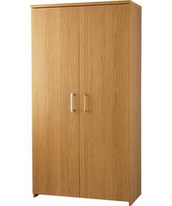 Walton Tall 2 Door Cupboard Oak Effect Office Storage Tall Cabinet Storage Argos Home
