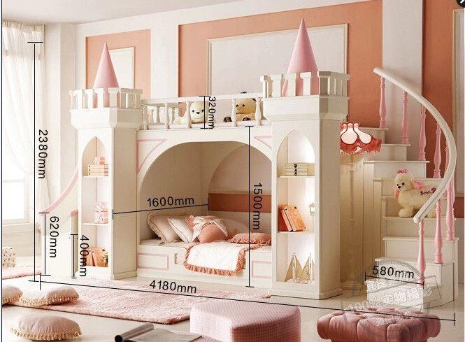 Big Bunk Bed Cool Kids Bedrooms Childrens Bedrooms Girl Room