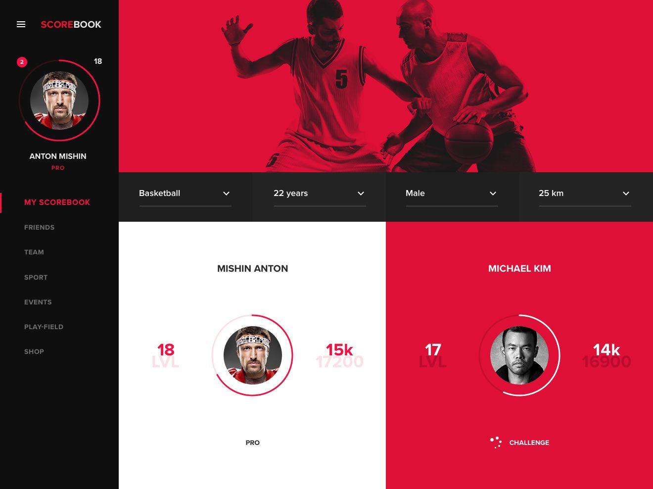01 My Sb Team Roulette 2 Dashboard Design Web Design