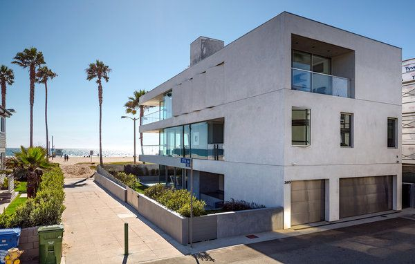 Bauhaus On The Beach Architects And Architecture Villa Modern Venice Dream House Los Angeles