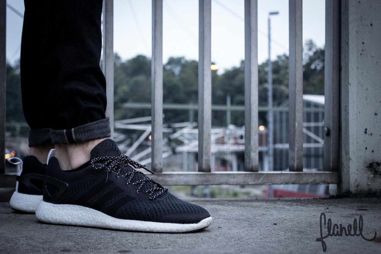 d1d9d44f6b918 Adidas Pure Boost Zg Black On Feet los-granados-apartment.co.uk