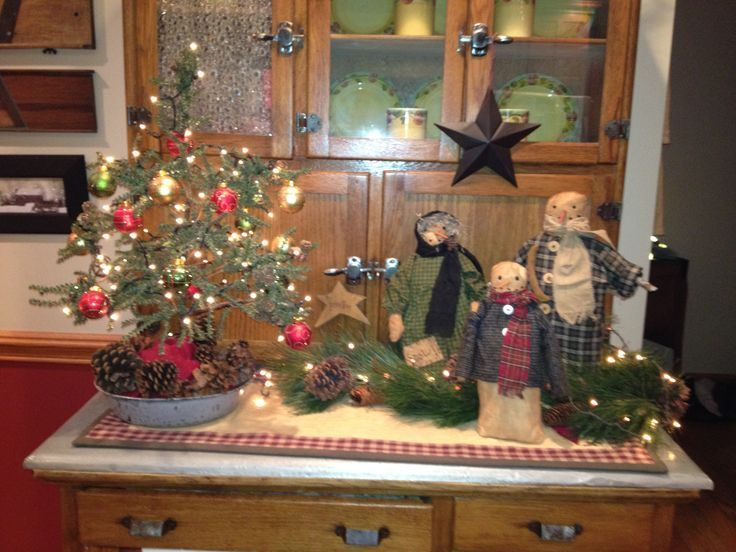 primitive country christmas decorations wwwpixsharkcom