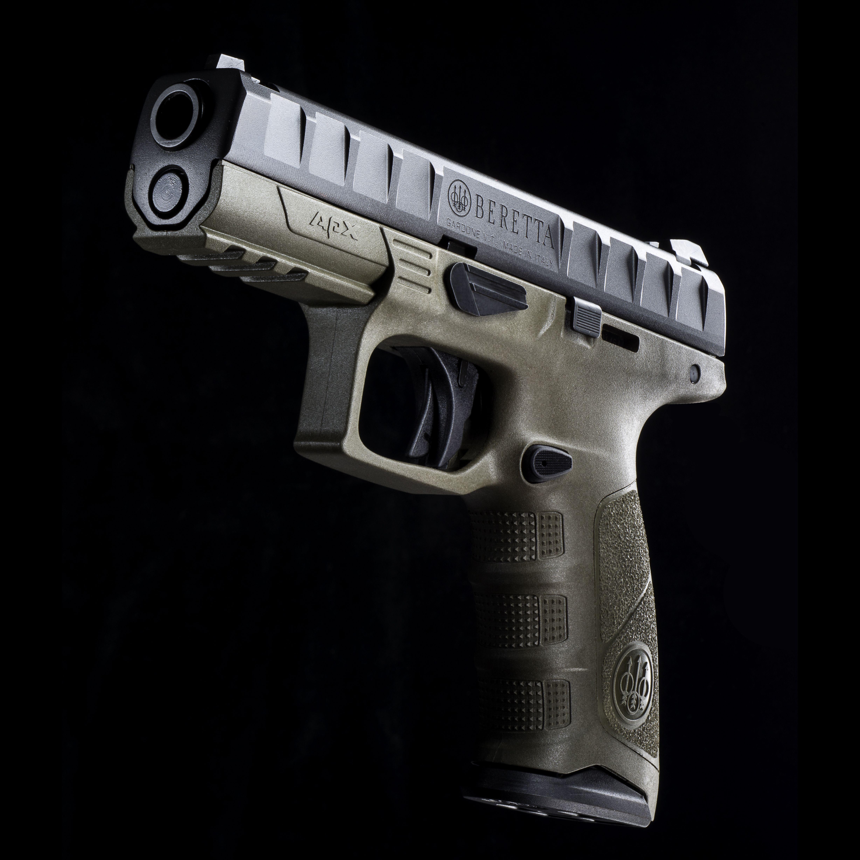 Beretta APX pistol - olive drab body & backstraps