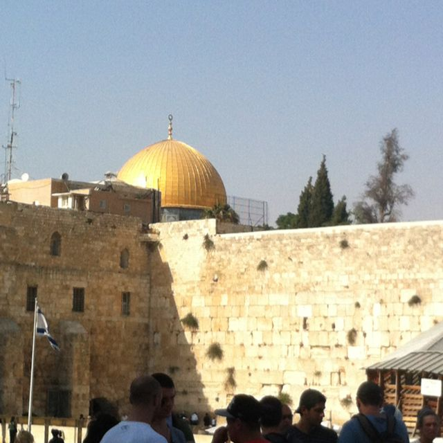 Western wall Jerusalem Israel (was there today:) )