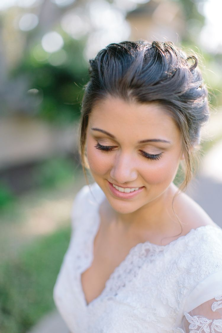 bridal hair & makeup || first and orange photography