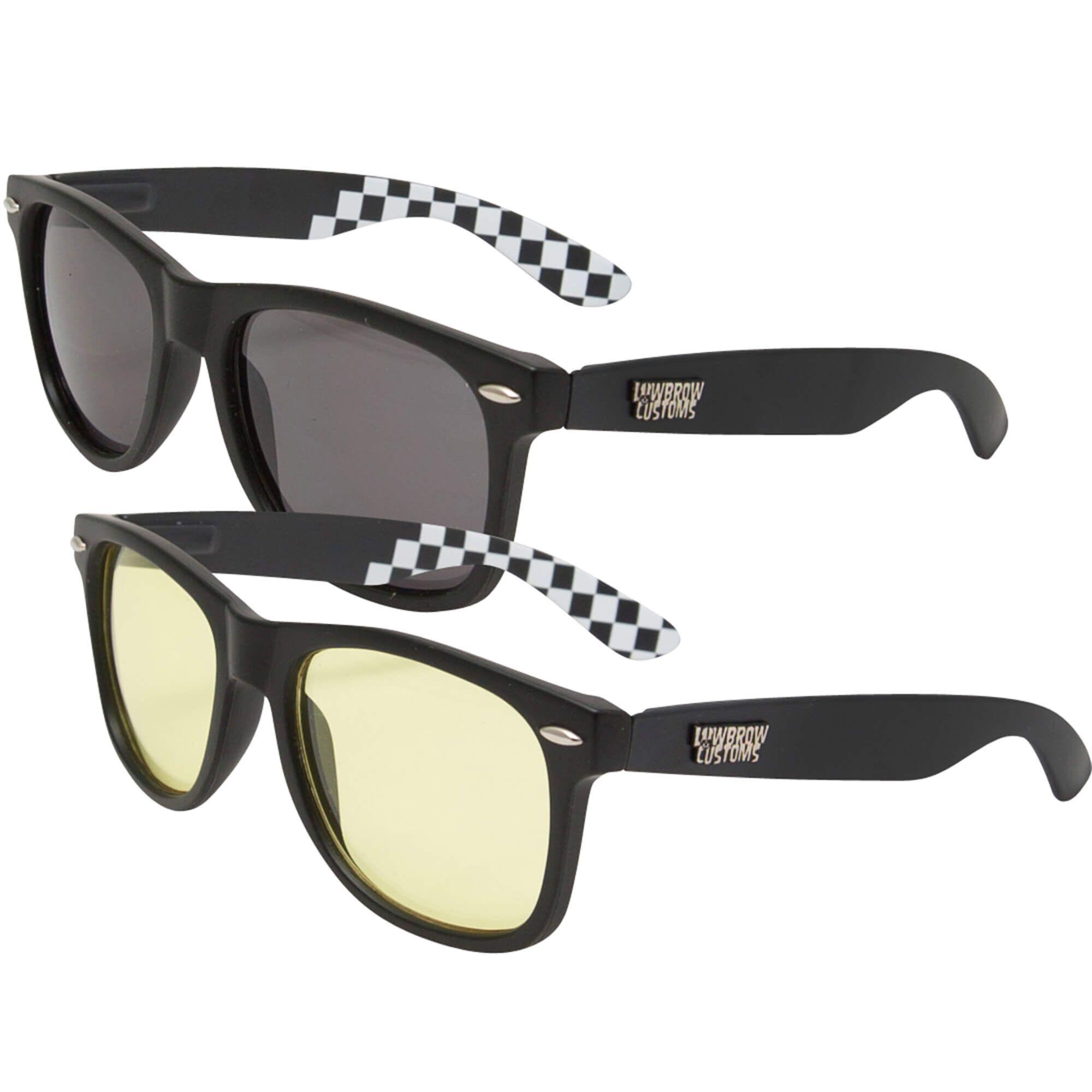 Originals Sunglasses and Black Moon Riding Glasses Set