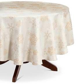 Threshold™ Snowflake Jacquard Tablecloth