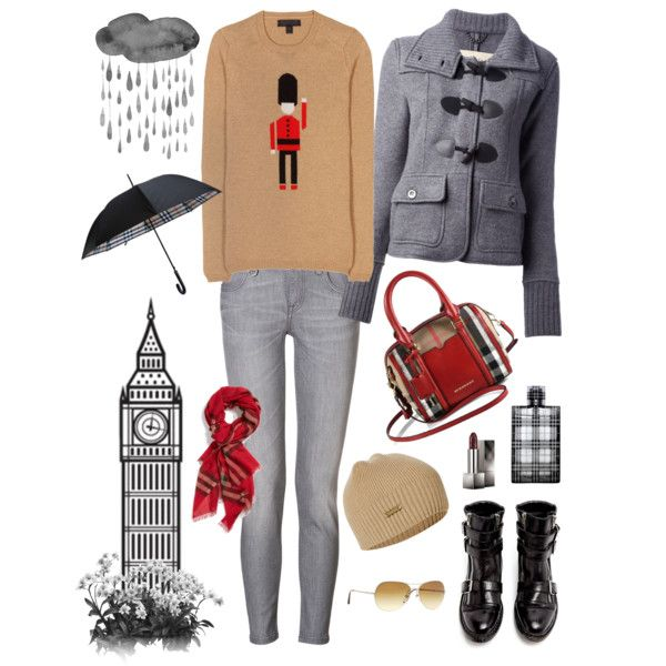 Burberry...outfit by chiocero on Polyvore featuring Burberry