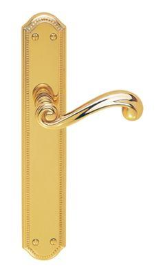 Versailles Door Handle on Backplate | Door Handles on Backplate ...