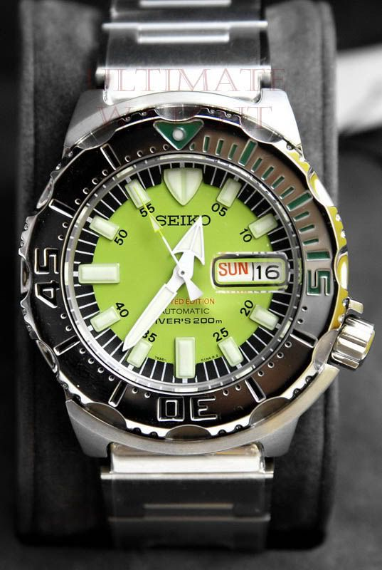 Collector's Guide To All the Seiko Monster Variants (Incl