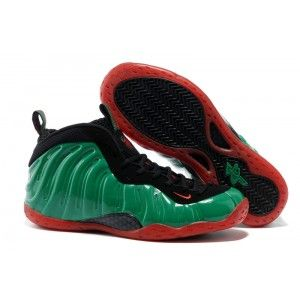 Nike Air Foamposite One Army Green Red Black � Cheap ...