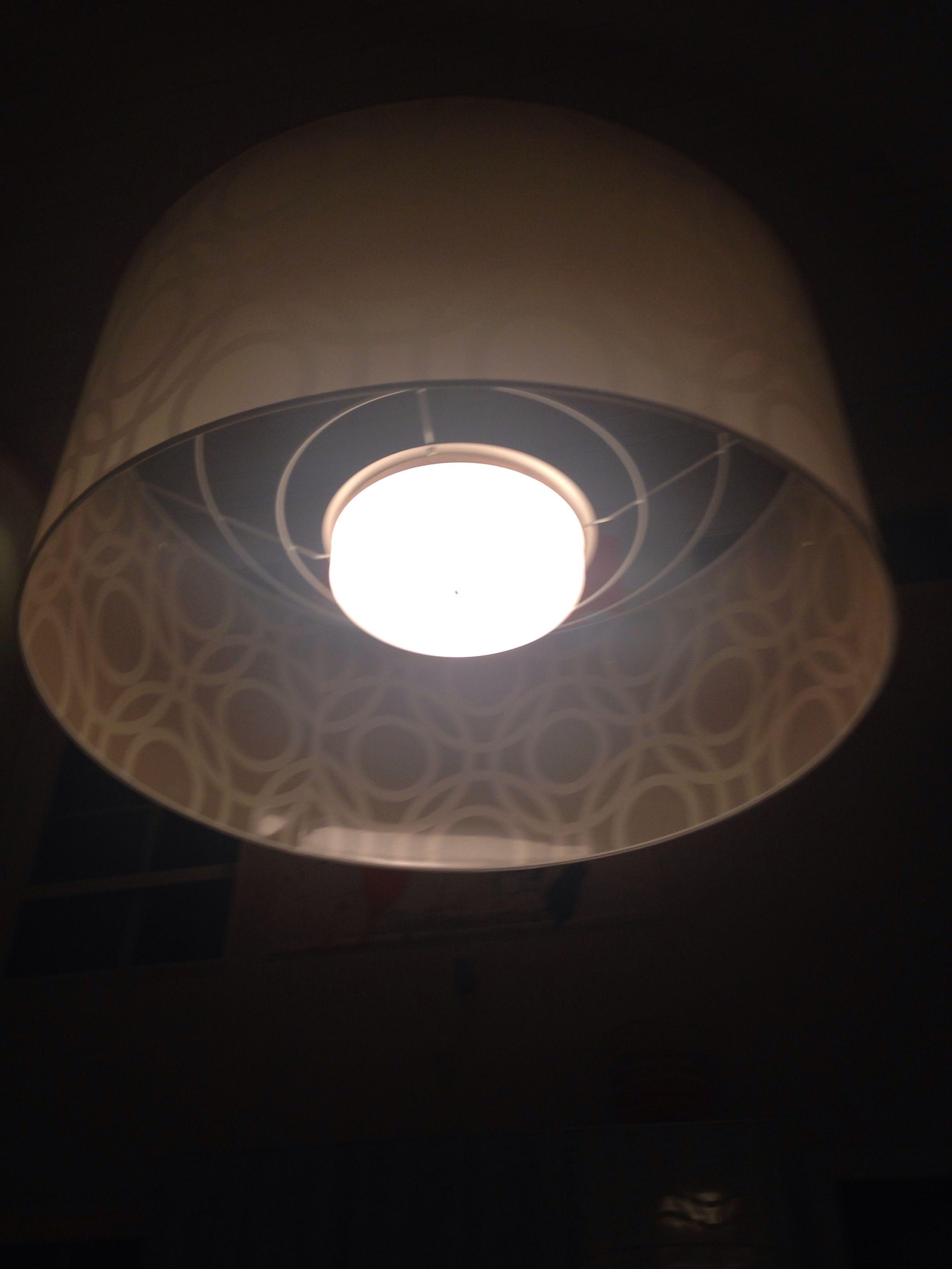 Stor lampa