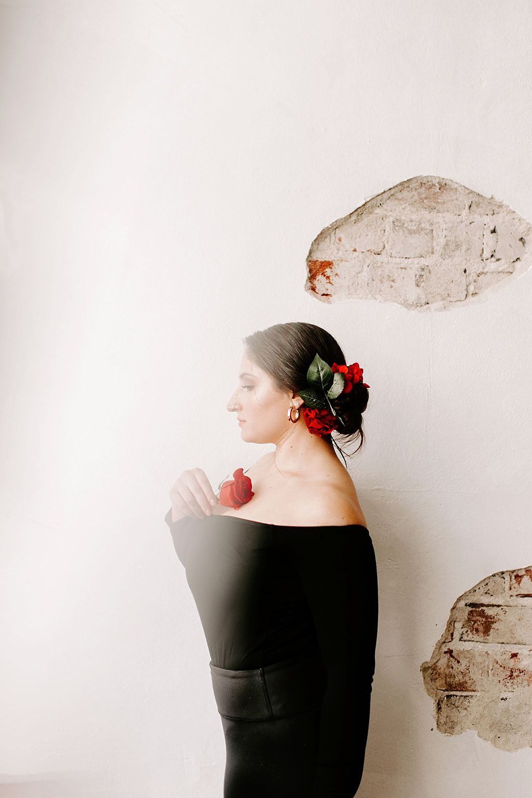 winter styled shoot with lexi dawn hair in indianapolis